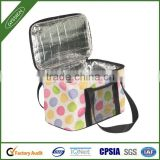 Multi-color eco-friendly christmas insulated lunch cooler bag with durable hard liner,lunch cooler bag with durable hard liner