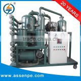 High Performance Double Stage oil filter machine for transformers/used oil recycling machine