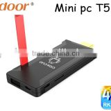 Podoor T518 mini pc Quad Core Android TV Dongle with External Antenna TV stick Wifi Display