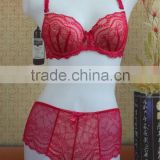 2016 New Designed Lace woman bra set underwear
