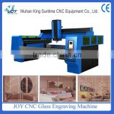 Best Effective High Precision CNC 3D Glass / Crystal Engraving machine / Glass Engraving CNC Machine for all