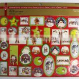 hot selling new design &beautiful luxuary christmas paper tags