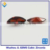 Synthetic Marquise Cubic Zirconia Gem, Factory Price Of a Garnet Stone For Clothes Decoration