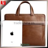 2014 famous brand custom mens leather messenger bag laptop briefcase wholesale handbag china