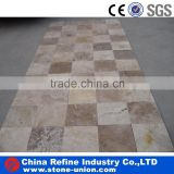 mix color travertine wall tile