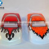 Vacuum forming plastic toy car