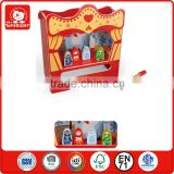 marketing plan new products kids learning toys wooden table theatre and a hammer story role play view theatre table