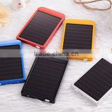 Solar Power Bank 2600mah high capacity power bank, battery charger for Mobile phone camera