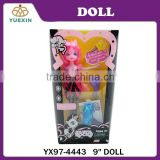 Shantou China Doll Toys Factory 9 inch Kids Doll Toys