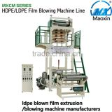 ldpe blown film extrusion/blowing machine manufacturers