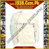 Kevlar Cut Resistant Covert White Long Sleeve T. Shirt {- Made-To-Order -}