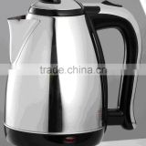 2016 hot selling double wall stainless steel electric kettle                                                                                                         Supplier's Choice