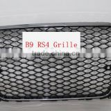 front grille for audi A4 S4 RS4 .a4L black front grill for audi