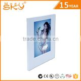 Wholesale modern style souvenir plastics lighting photo frame