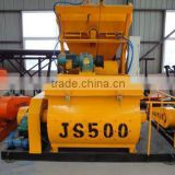JS series concrete mixer JS500 concrete mixer cheap price mini concrete batching plant hot sale in market