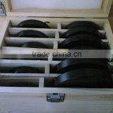 Steel Or Aluminum Ball Bearing Ring Fence Set For Cutting Direction