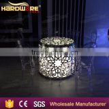 New design stainless steel led round glass wedding dining table                                                                         Quality Choice                                                     Most Popular