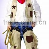 Halloween party fancy dress costume carnival cosplay costume children kids cowboy costume