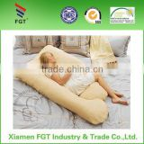 Wholesale softer latex pregnant pillow full body maternity pillow U shaped pregnancy latex pillow