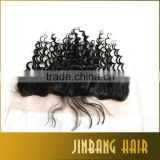 Deep wave silk base full frontal lace closure 13x4 discount cheap deep wavy human weave lace frontal closure