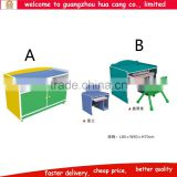 Colorful wooden high quality cabinet for kids