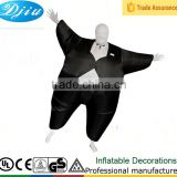 DJ-CO-144 Inflatable party dresses for fat girl Funny Halloween Costumes Black western party wear dresses