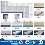 YC3-1 Direct supplier finger grip tile for swimming pool edge