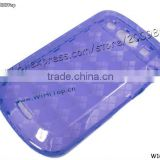 Clear TPU Skin Case Cover for Blackberry 9900. Back Case Cover for Blackberry Bold Touch 9900.