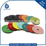 Diamond wet polishing pads for stone, concrete polishing pads manufacturer