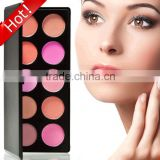 10 colors blush cosmetic Palette Free Sample