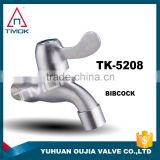 "1/2""male BSP thread stainless steel bibcock garden faucet /tap kitchen for water 316 /304 wall mounted wahsing machine in oujia"