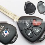 20% OFF Toyota Camry remote key cover for 3 button panic car key Toyota Camry RAV4 Avalon Matrix Venza Yaris shell