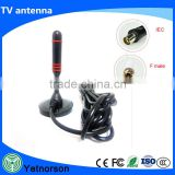 Hot selling high gain car dvb t2 digital tv receiver antenna with amplified signal booster