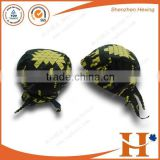 Factory price! custom outdoor printed pirates cap,printed 3 panel pirates hat blank from china manufactur