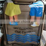 Thicken PVC Auto Car Back Seat Protector For Kids Travel