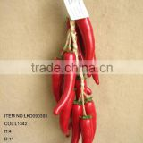 2016 New High Quality Harvest Artificial red chilli pepper String home decoration
