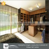 2015 modular style walk in wardrobe bedroom with wooden color ,wall wardrobe design furniture