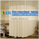 2015Brilliant Quality Anti-microbial Fireproof Hospital Partition Bed Screen Curtain With Net