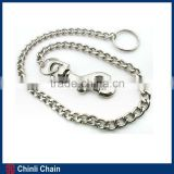 Pet Dog Choke Chain electrical galvanized hardware pet chain