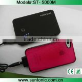 power bank 50000mah with matte rubber finish case and dual USB                                                                         Quality Choice