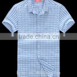 Fashion Shirt Cotton Plaid Shirts | boys check shirts