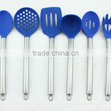 factory eco-friendly silicone kitchen utensil set with holder                                                                         Quality Choice