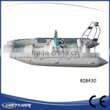 Gather Classic design cheap High Quality Commercial luxury rib inflatable boat