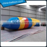 Rainbow color inflatable water bolb / inflatable water catapult blob for fun                                                                                                         Supplier's Choice