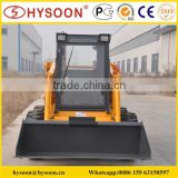 construction use Bobcat Chinese skid steer loader with bucket