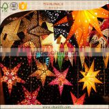 Indian Paper Star Lanterns Lucky Star party decoration supplies