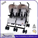 Competitive price shock absosrber system baby twin pram