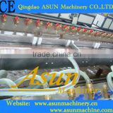Qingdao product PVC Wood plastic floor production line/making machine/extrusion line