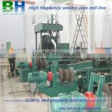 hydraulic press double end pipe chamfering machine
