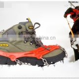 Wholesale Rubber Anti Slip Climbing Cleats Ice Chain Crampon Snow Shoes Cover